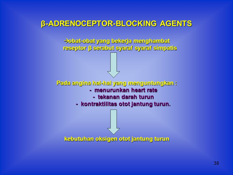β-ADRENOCEPTOR-BLOCKING AGENTS