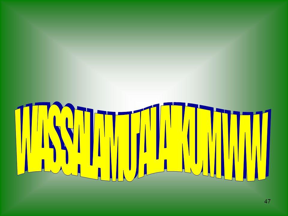 WASSALAMU ALAIKUM W W