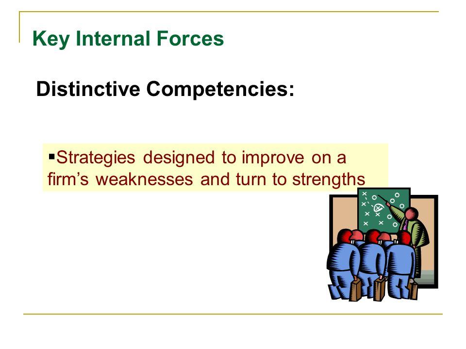 Distinctive Competencies: