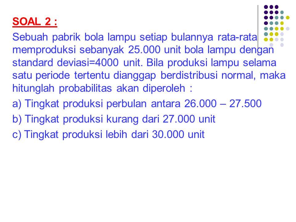 SOAL 2 :