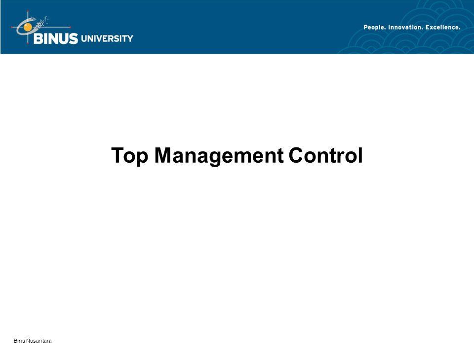 Top Management Control