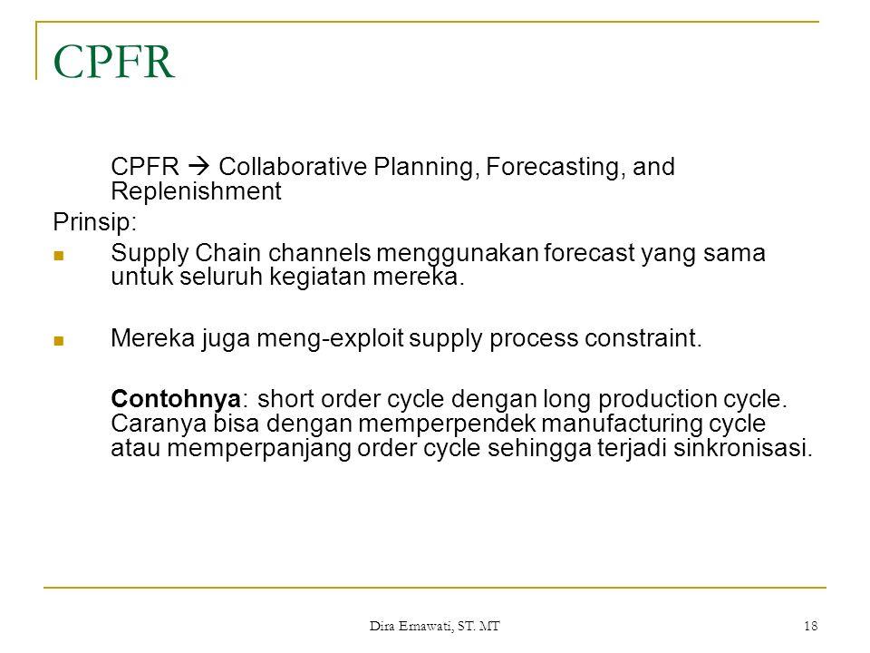CPFR CPFR  Collaborative Planning, Forecasting, and Replenishment