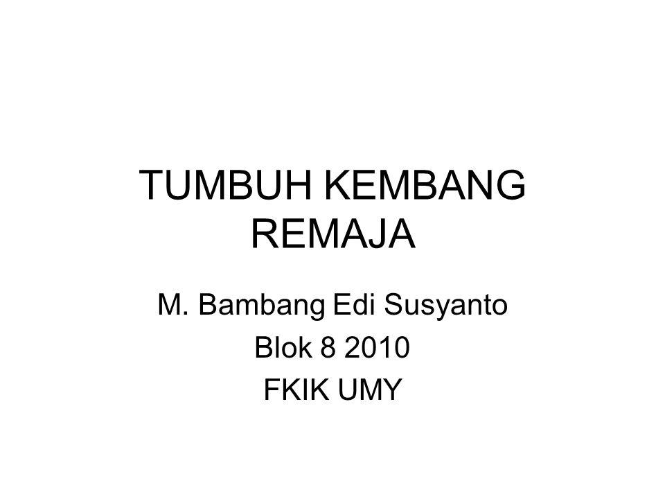 M. Bambang Edi Susyanto Blok 8 2010 FKIK UMY