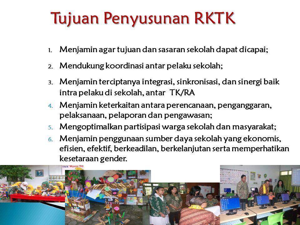 Tujuan Penyusunan RKTK