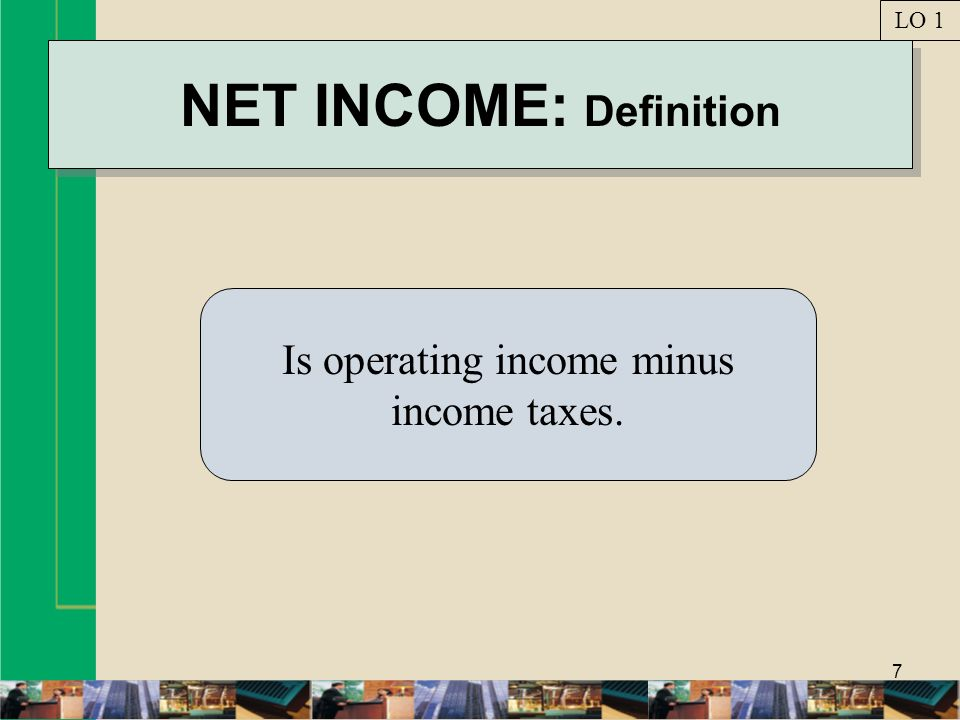 NET INCOME: Definition