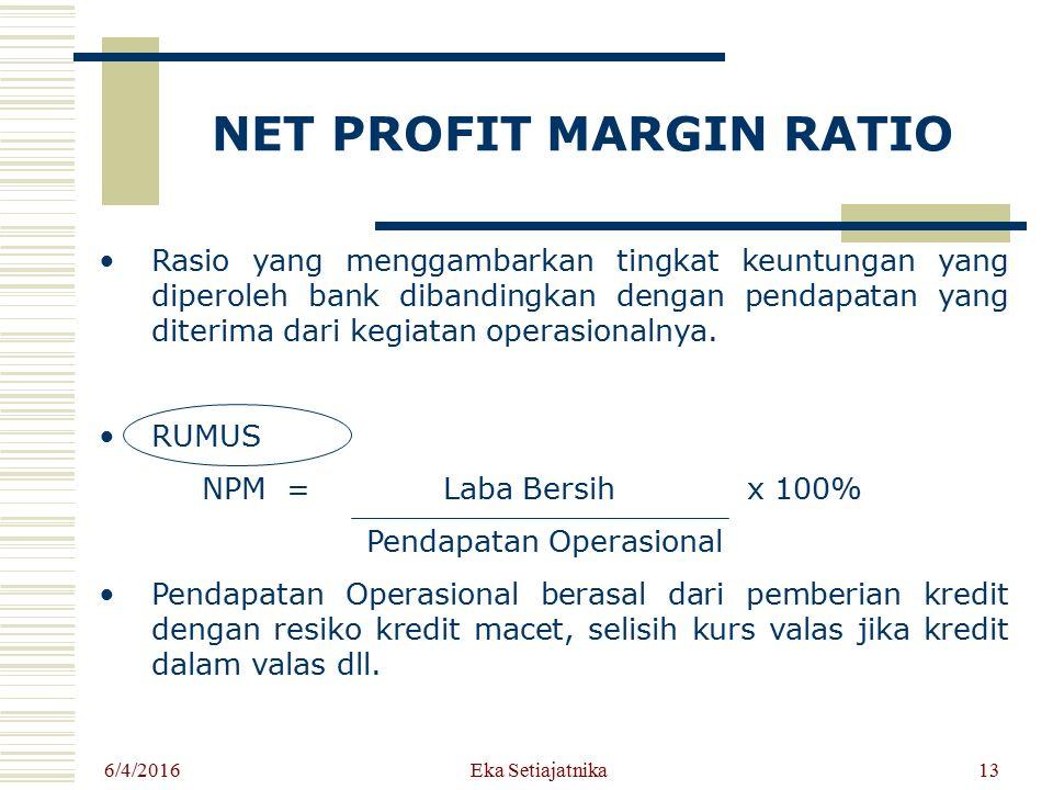 NET PROFIT MARGIN RATIO