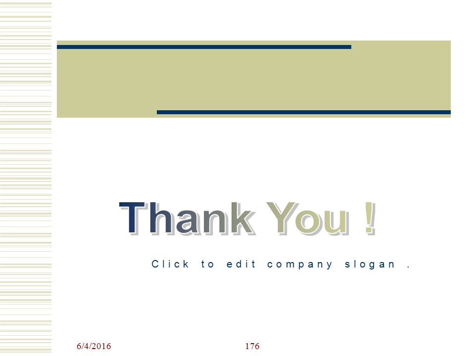 Click to edit company slogan .