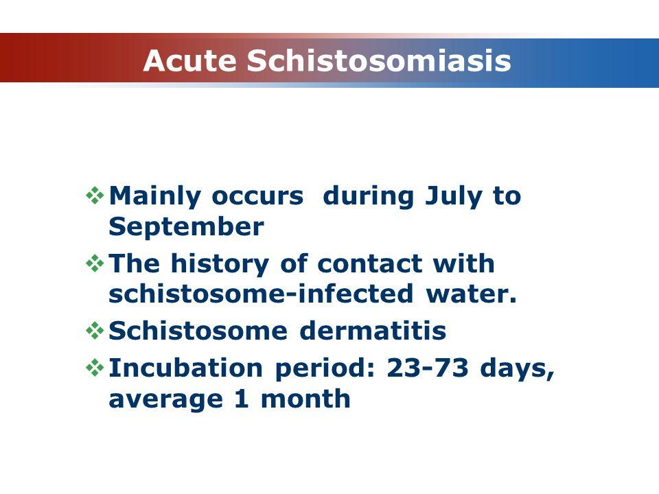 Acute Schistosomiasis