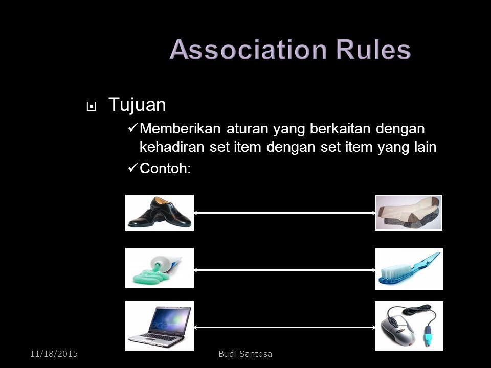 Association Rules Tujuan
