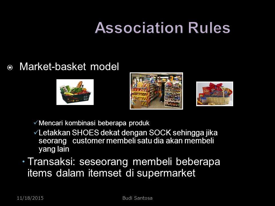 Association Rules Market-basket model