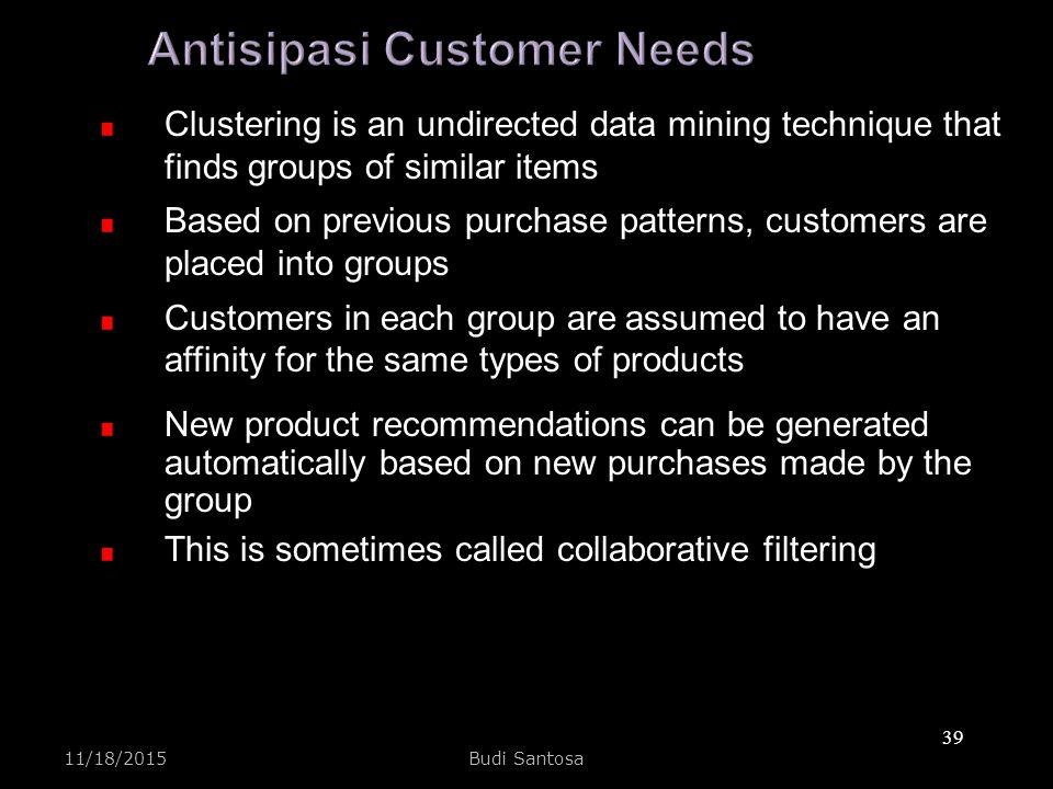Antisipasi Customer Needs