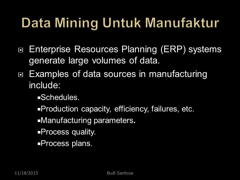 Data Mining Untuk Manufaktur