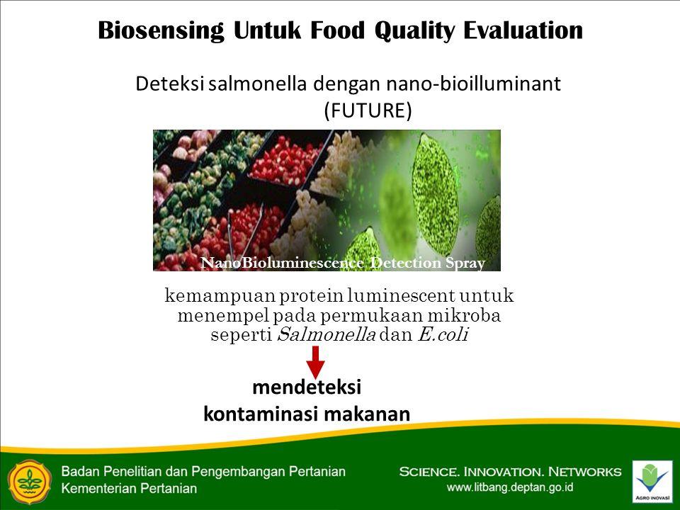 Biosensing Untuk Food Quality Evaluation