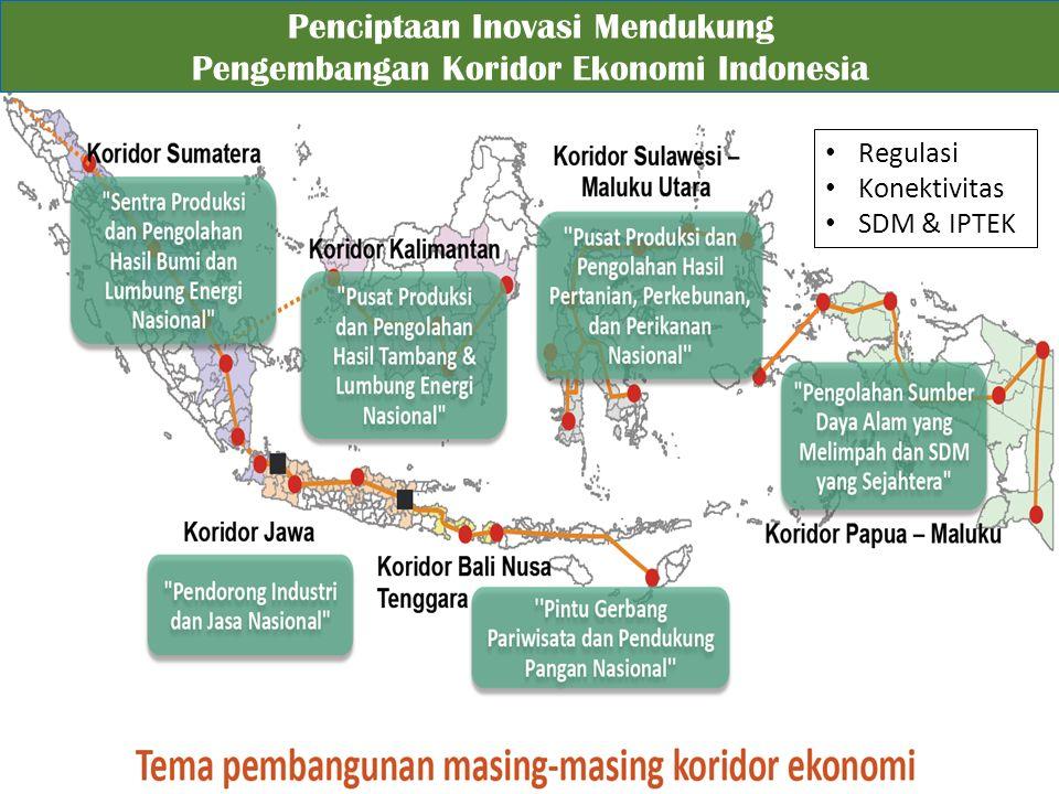Penciptaan Inovasi Mendukung Pengembangan Koridor Ekonomi Indonesia