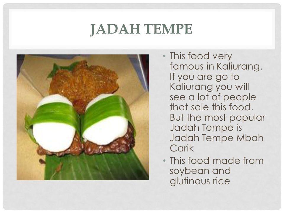 Jadah Tempe
