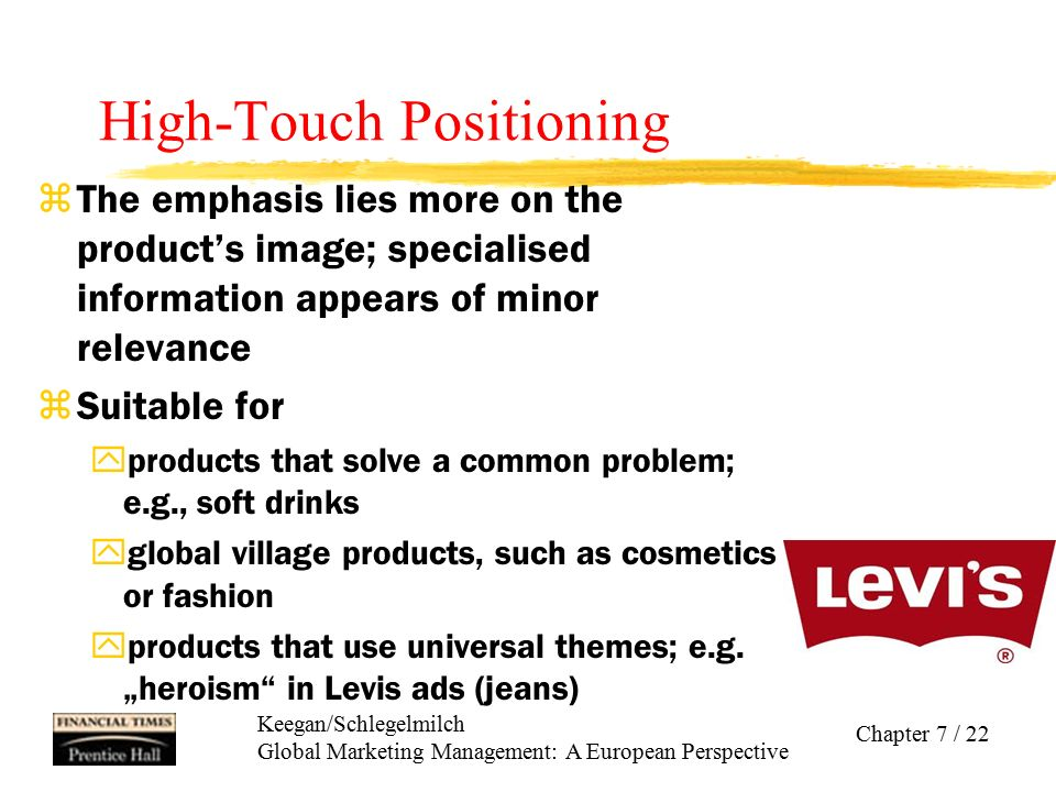 High-Touch Positioning