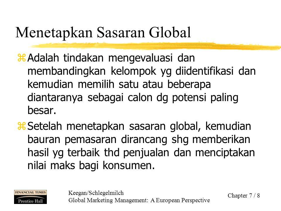 Menetapkan Sasaran Global