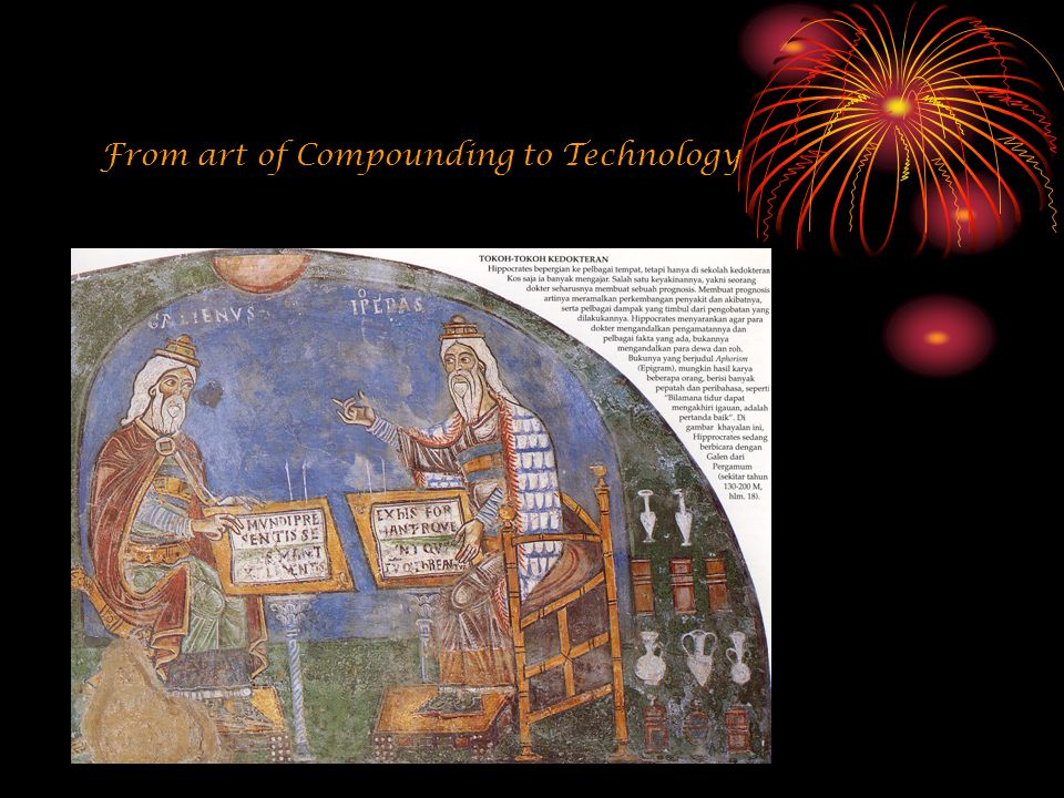 From art of Compounding to Technology