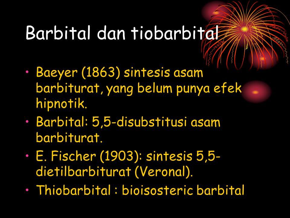Barbital dan tiobarbital