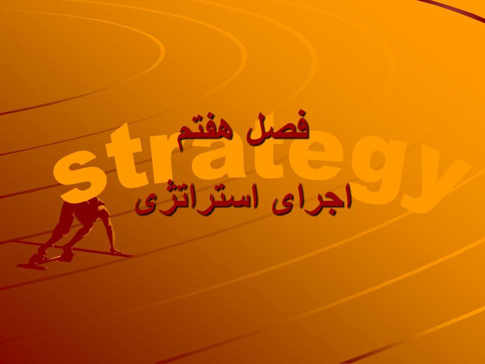 فصل هفتم strategy اجرای استراتژی