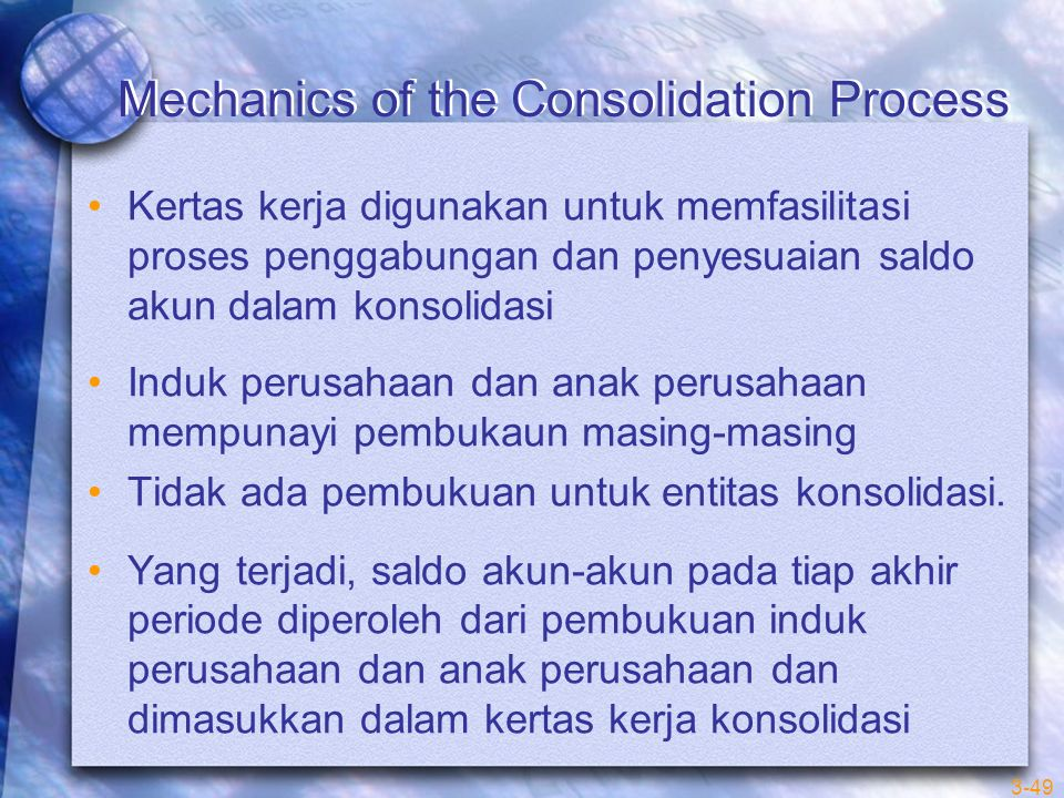 Mechanics of the Consolidation Process