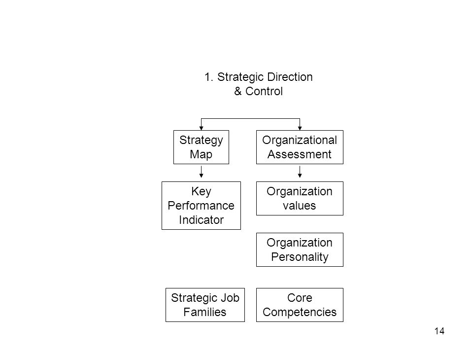 1. Strategic Direction & Control