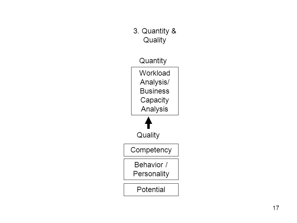 Workload Analysis/ Business Capacity Analysis