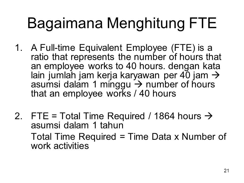 Bagaimana Menghitung FTE
