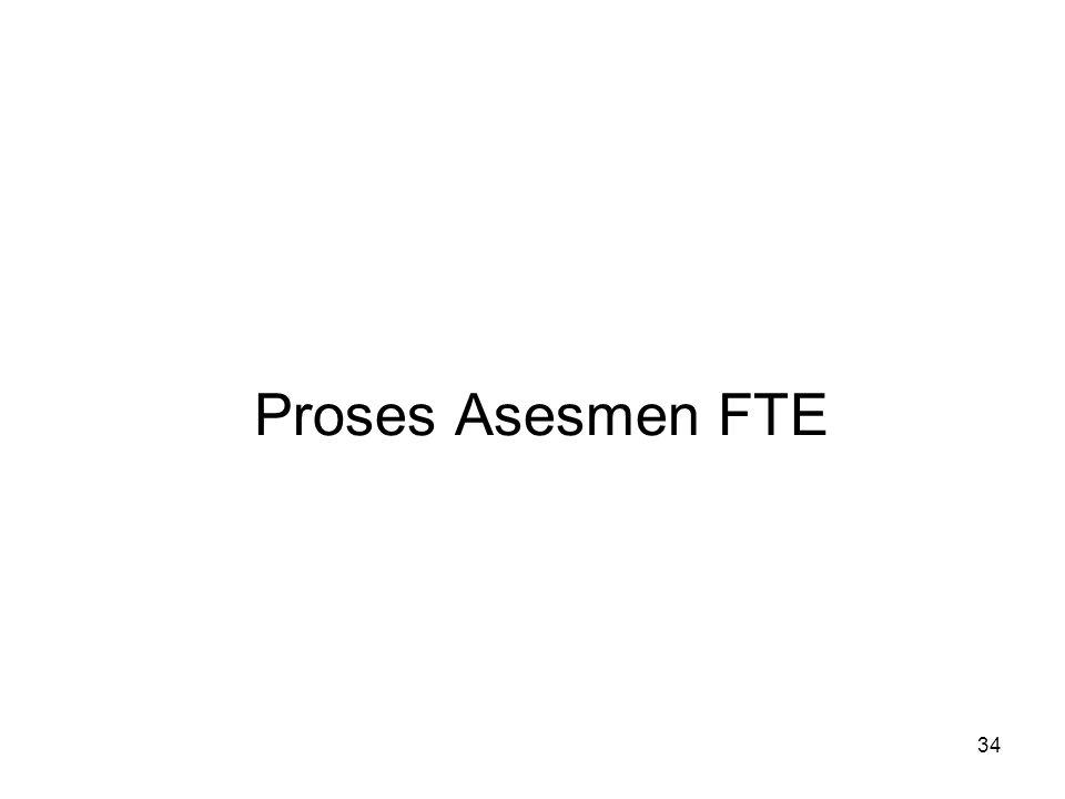 Proses Asesmen FTE