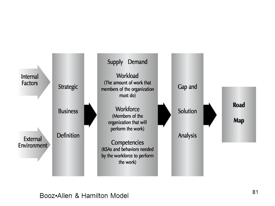 Booz•Allen & Hamilton Model