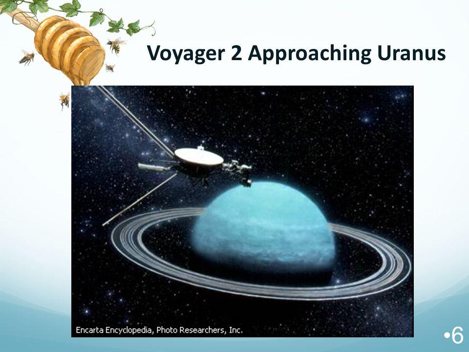 Voyager 2 Approaching Uranus