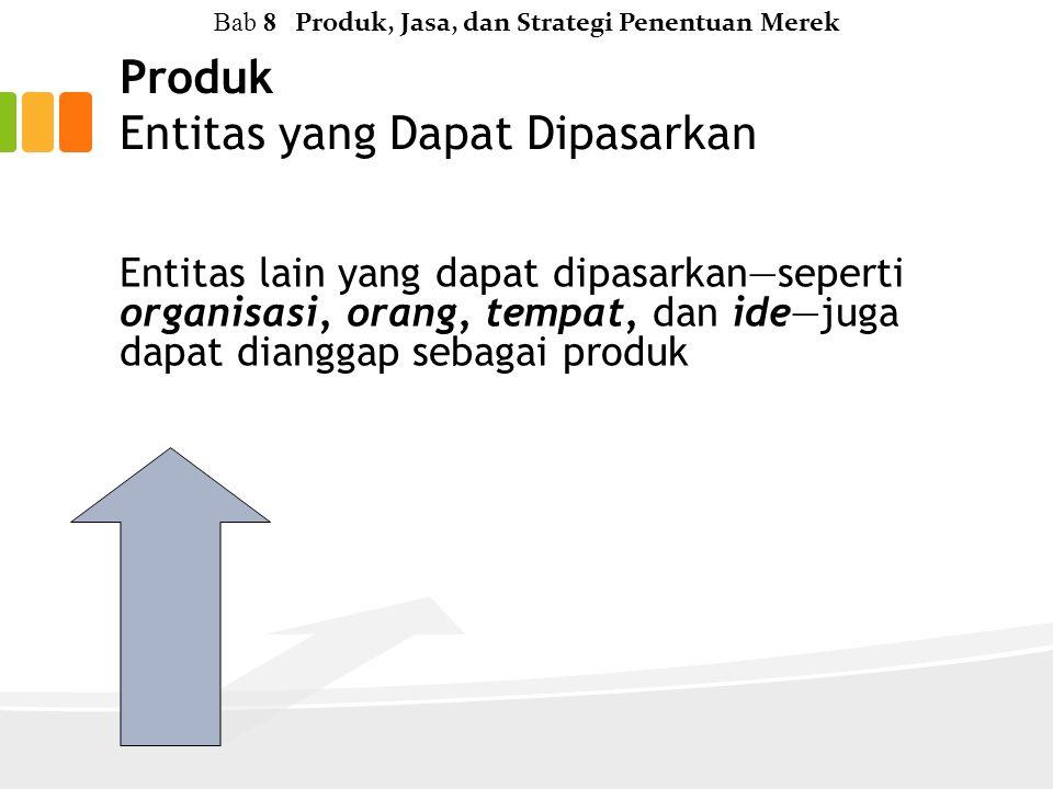 Produk Entitas yang Dapat Dipasarkan