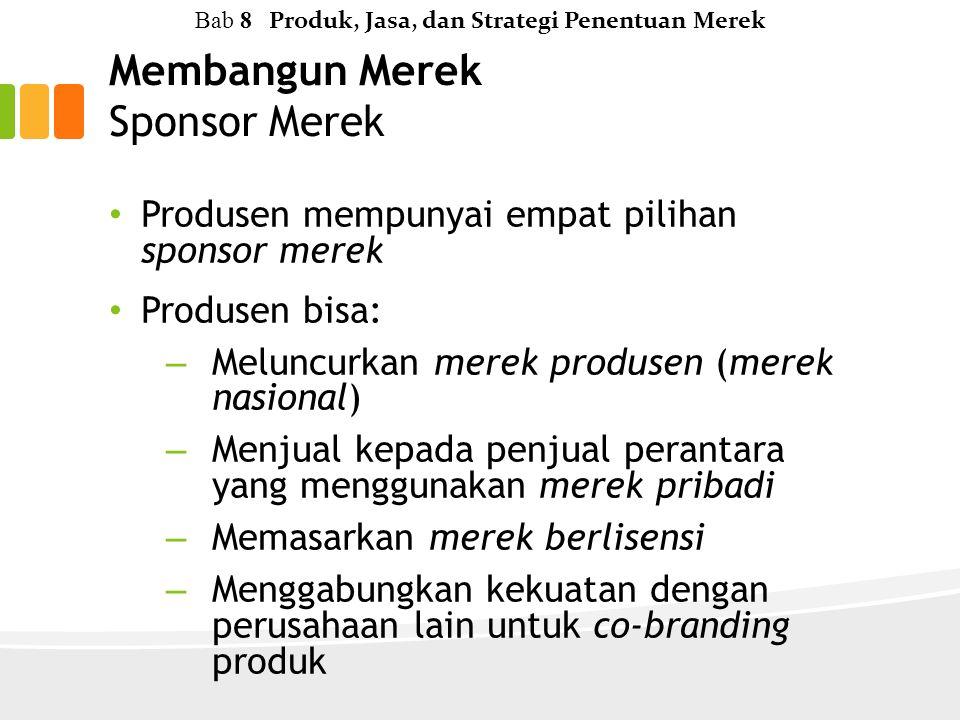 Membangun Merek Sponsor Merek