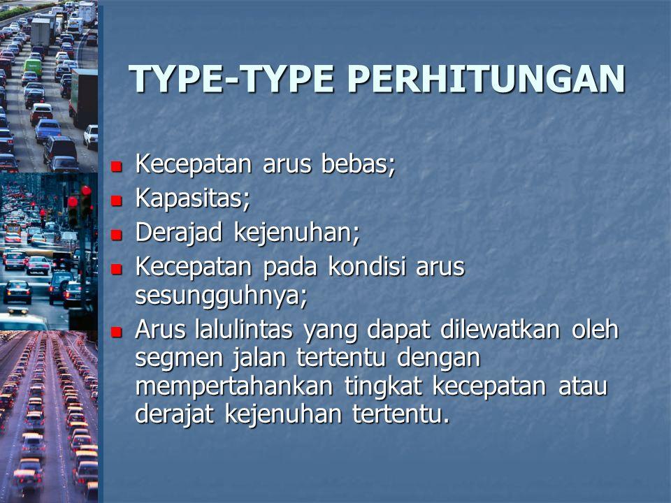 TYPE-TYPE PERHITUNGAN