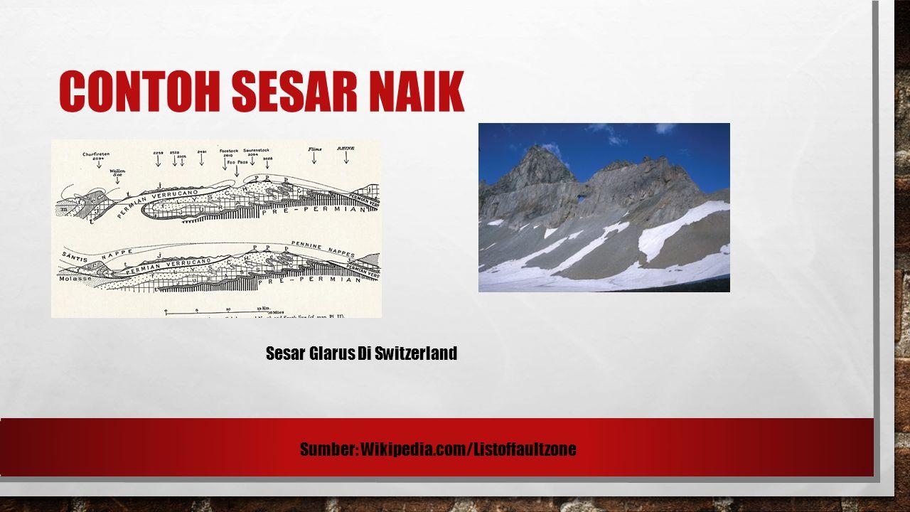 Contoh Sesar Naik Sesar Glarus Di Switzerland