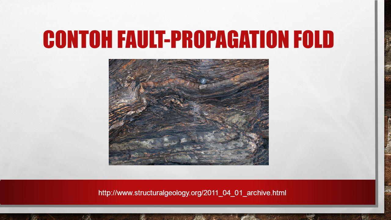 Contoh Fault-Propagation Fold