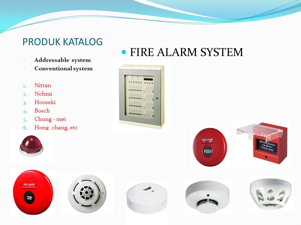 FIRE ALARM SYSTEM PRODUK KATALOG Addressable system