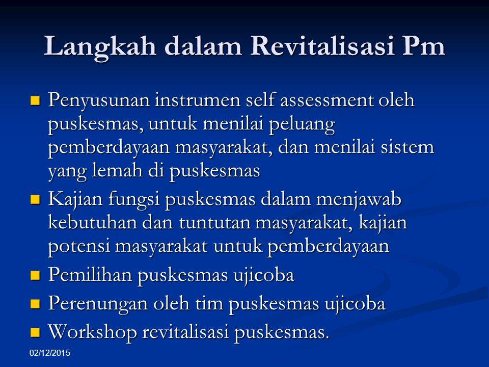Langkah dalam Revitalisasi Pm