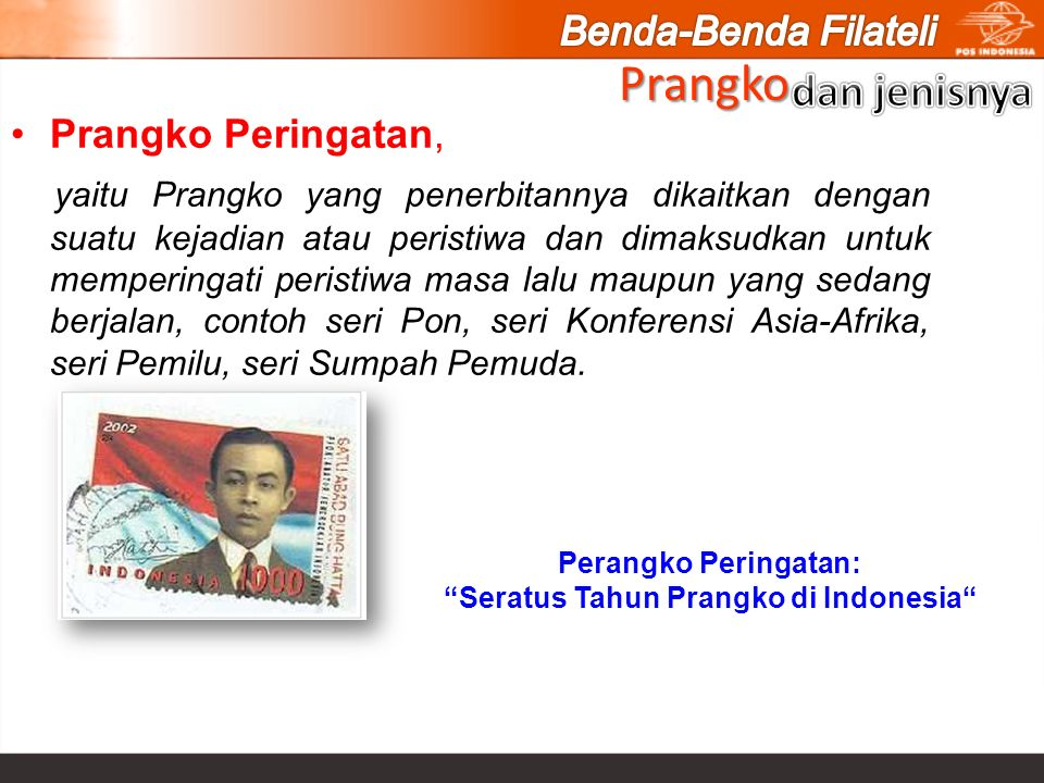 Seratus Tahun Prangko di Indonesia