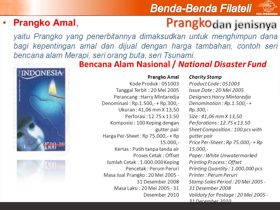 Bencana Alam Nasional / National Disaster Fund