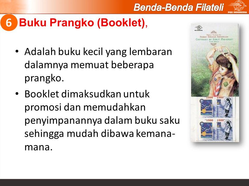 Buku Prangko (Booklet),
