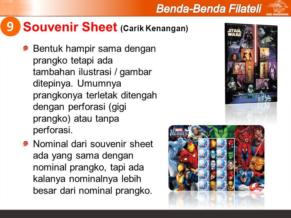 Souvenir Sheet (Carik Kenangan)