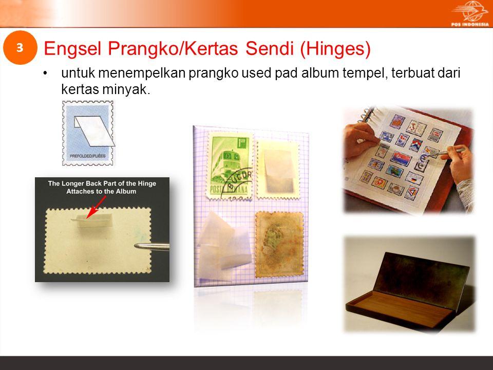 Engsel Prangko/Kertas Sendi (Hinges)