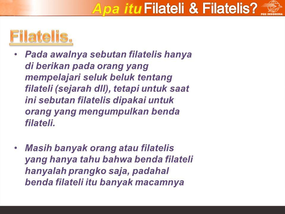 Filatelis. Apa itu Filateli & Filatelis