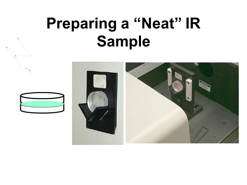 Preparing a Neat IR Sample