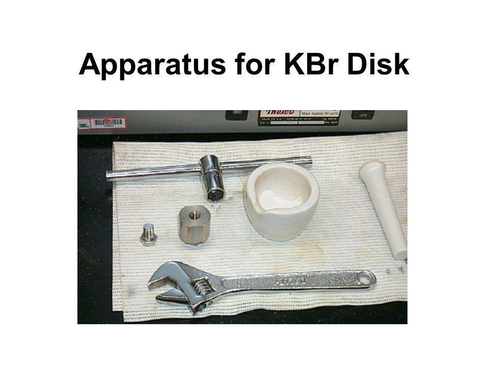 Apparatus for KBr Disk