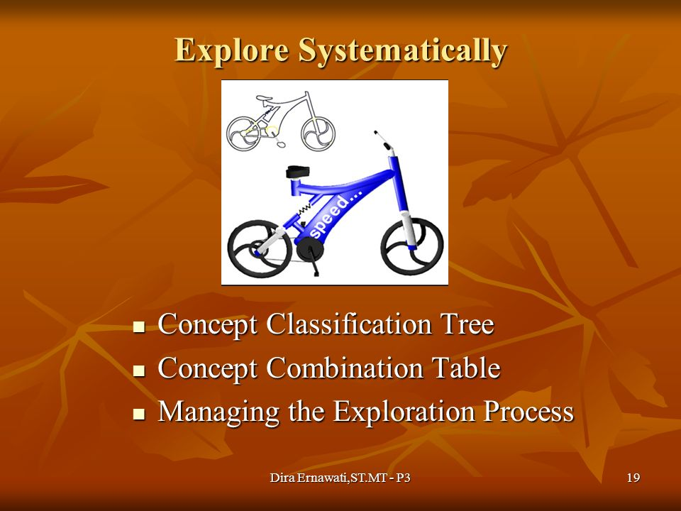 Explore Systematically