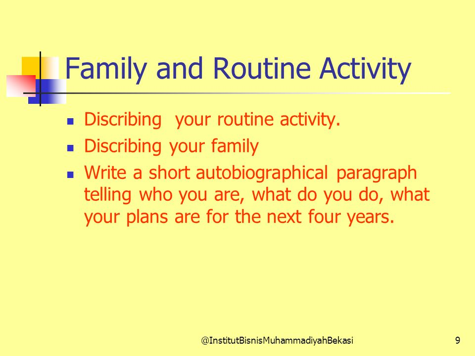 Family and Routine Activity