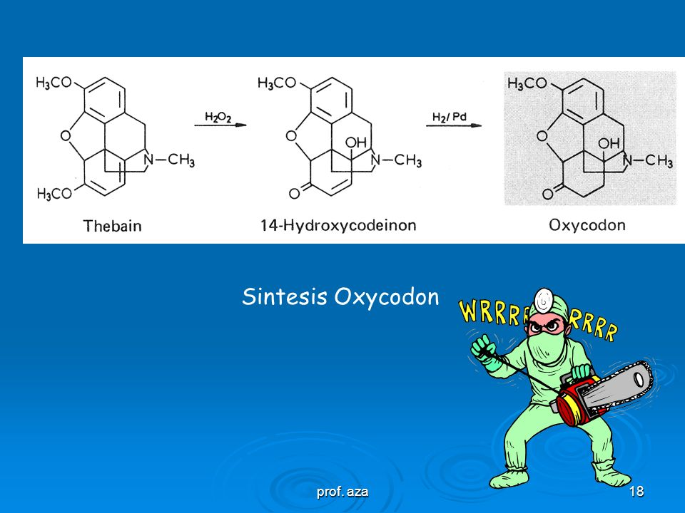 Sintesis Oxycodon prof. aza