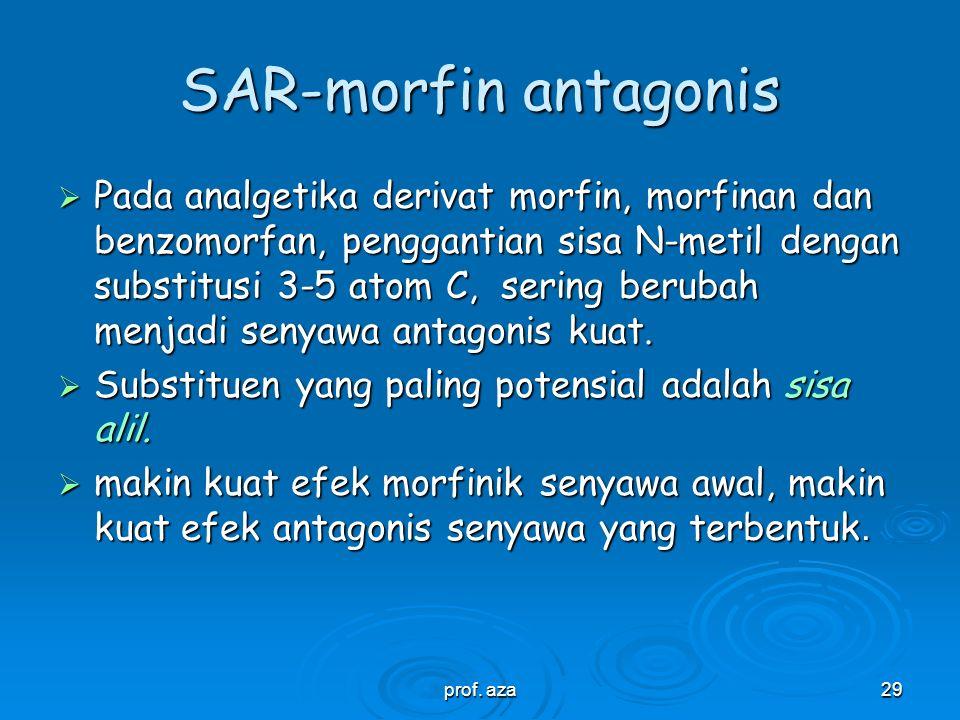 SAR-morfin antagonis